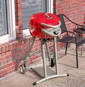 Char-broil 20602107-01 Patio Bistro Tru-infrared Electric Grill Red