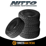 4 New Nitto Trail Grappler M/t 33/12.5/22 109q Off-road Traction Tire
