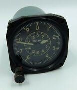 Vd-20 Vintage Ussr Russian Military Aircraft Altimeter 430538