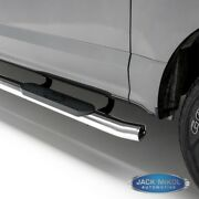 Aries S223044-2 Stainless Steel 4 Inch Oval Side Bars For 15-16 Ford F-150 Supe