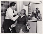 Ann Todd Has Her Lips Touched Up Candid Vintage Photo