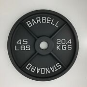 Sale New 45lb Pair Total 90lb Machined Olympic Weight Plates
