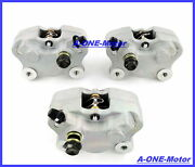 Front Andrear Brake Calipers For Arctic Cat 250 300 375 400 454 500 2x4 4x4 W/pads