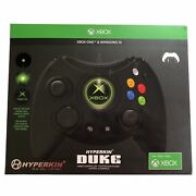 Hyperkin Duke Xbox One Wired Controller Brand New Sealed In The Box Rare Black