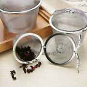 3pcs Tea Ball Spice Herbal Strainer Mesh Infuser Filter Diffuser Stainless Steel