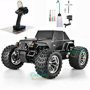 Rc Truck Nitro Gas Powered Hobby Car Two High Speed Off Road Monster Truck 110
