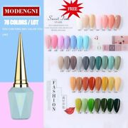 Modengni High End Professional 78 Colors Uv Nail Gel For Nail Art Manicure