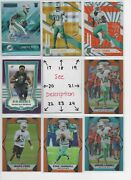 Miami Dolphins Serial 'd Rookies Autos Jerseys All Cards Are Good Cards