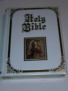 Recency Family Bible King James Version Red Letter Edition New Sealed Vintage
