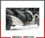 Headers Kit Zard Zd117scr Stainless Ducati Diavel Limit.edition 2011 2018