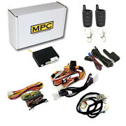 2-way Remote Start Kit W/keyless Entry For 2013-2019 Nissan Sentra - T-harness