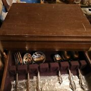 Oneida Michelangelo Stainless Flatware Set And Case, 54 Pieces
