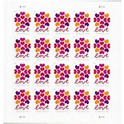 300 Love Heart Blossom Forever Stamp Usps 15 Sheets Of 20 Stamps 2019 Wedding Us