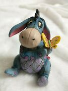 Disney Traditions Jim Shore Mini Eeyore With Butterfly 4056746 New