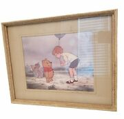 Wdcc Pooh From Walt Disneyand039s Winnie The Pooh Matted Frame W Certificate Oa 15
