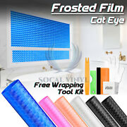 Cat Eye Frosted Office Home Kitchen Bathroom Security Privacy Glass Window Film