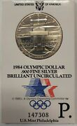 1984-p Olympic Commemorative Silver Dollar Special Mint Packaging Priced Right