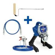 Magnum X5 Stand Airless Paint Sprayer With 4 Ft. Whip Hose Pressure Roller Kit
