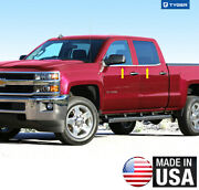 For 14-18 Chevy Silverado Double/extended Cab 4pc Window Sill Overlay