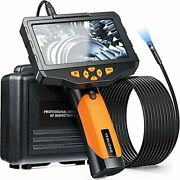 Teslong Inspection Camera 8mm Industrial Endoscope Borescope 16.4 Ft Cable New
