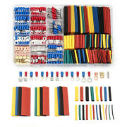 678x Heat Shrink Tubing Electrical Sleeving Cable Wire Terminal Connectors Kit