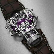 Innovative Luxury 3d Bi-turbo Watch With Sapphire Crystal Case Limited Edition