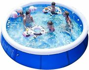 Niyokki Family Inflatable Swimming Pools Above Ground Portable 10ft X 30in