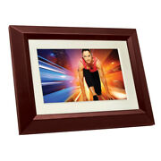 Philips 810 Led Panel Digital Photo Frame Home Essentials Wood Picture Frames