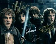 Sean Astin Boyd Wood Monaghan Signed 8x10 Photo Autographed Picture And Coa