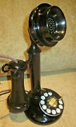 Working Western Electric Dial Candlestick Telephone.
