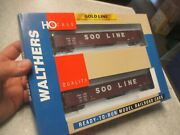 Walthers 932-240251 Ho Scale 53' Thrall Gondola 2-pack Soo Line Gold Line Nos