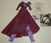 Ashton Drake Gene Marshall Doll Outfit At Home For The Holidays W/ Coa
