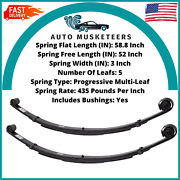 Pro Comp 22410 Front Leaf Springs 4 99-04 Fits D F250/ F350 Pair With