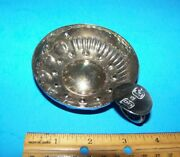 Vintage B And G Silver Wine Taster  Tastevin  Barton And Guestier