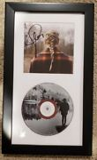 Signed Evermore Cd By Taylor Swift With Custom Frame