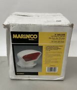 Marinco 3 Deluxe Low Profile Pvc Cowl Vent N10863 Snap-in Deck Plate And Cover