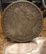 1895 O Morgan Silver Dollar Key Date See Pics For Cond.