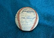 1994 Boston Red Sox Team Autographed Baseball 24 Signatures Nm-mt With Clemens