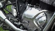 For Royal Enfield Continental Gt Interceptor 650 Compact Engine Guard Chrome