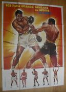 Boxing Cassius Clay Muhammad Ali French Original Movie Poster 63x47 70s