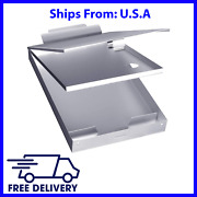 Metal Clipboard Case With Storage Box Aluminum For Nursing And Office Business