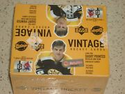 2002-03 Upper Deck Vintage Hockey Trading Cards Box New Factory Sealed