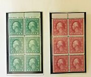 Us Definitive Booklet Pane Stamp Collection 1917-1976  498- 1595 37 Panes