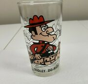 Vintage Dudley Do-right Pepsi Collector Series Glass Pat Ward 70's