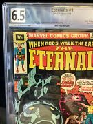 The Eternals 1 July 1976 Graded 6.5 .30 Variant First Appearance Ikaris Kro