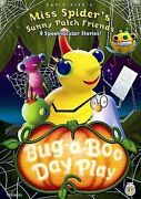 Miss Spider Bug-a-boo Day Play Dvd Disc And Cover Art Only No Case