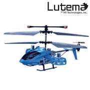 Lutema Avatar Hovercraft 4ch Remote Control Helicopter - Blue