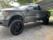 Duel Drilled Chevy 1500/ford F150 20 Inch Rims And 35/12.50/r20 Tires -44 Offset