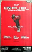 New In Box M18 Milwaukee Fuel 2854-20 3/8 Brushless Cordless Impact Wrench Volt