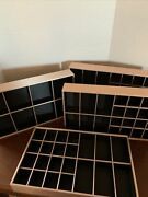 4 Wolf Designs Deep Stackable Vault Trays Approx 14andrdquo X 8 1/2andrdquo X 2andrdquo